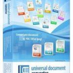 Universal Document Converter 6.9 Crack + Key [Latest 2021]